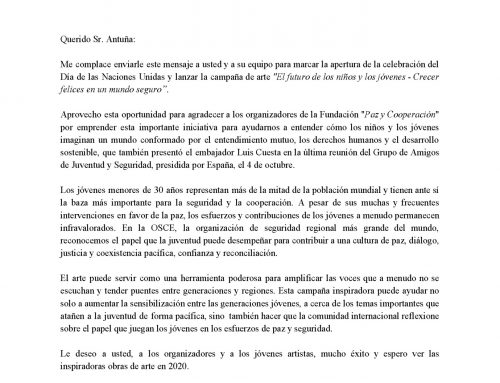 Carta de la OSCE a Paz y Cooperación