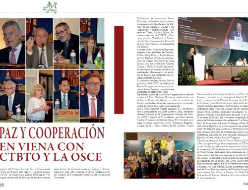 PEACE AND COOPERATION IN THE JOURNAL DIPLOMACY