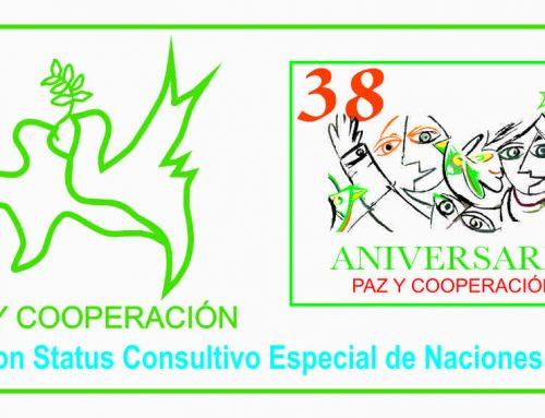 PAZ Y COOPERACIÓN – ONG con Status Consultivo Especial de Naciones Unidas