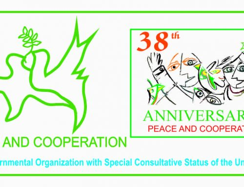 PEACE AND COOPERATION – A Non-Governmental Organization with Special Consultative Status of the United Nations