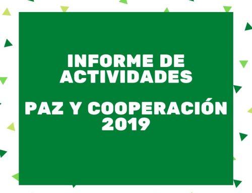 Informe de actividades 2019