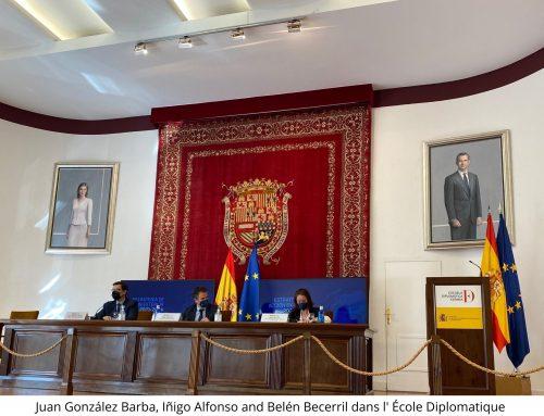 Espagne dans l'Union Européenne: Plus Loin de l'Action Exterieure