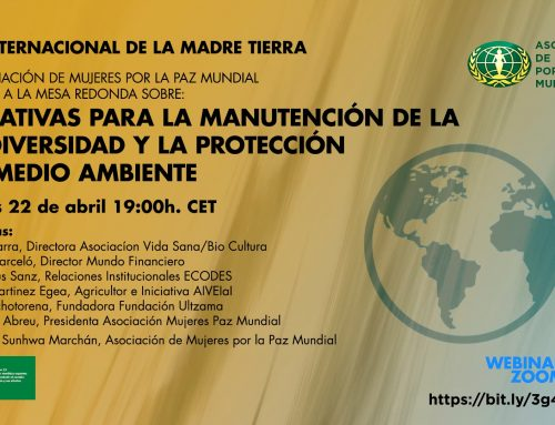 Initiatives for the maintenance of biodiversity and the protection of the environment
