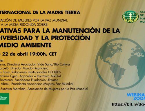 Initiatives pour le maintien de la Biodiversité et la protection de l'Environnement